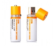 АКБ  USB AA HR6 800mAh 1.2 V  цена за 1 штуку