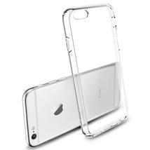 Бампер для iPhone 6 plus (прозрачный, силикон)