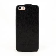 Чехол-книжка Classic для iPhone 5 (черный, натуральная кожа)