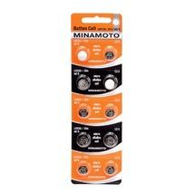 Батарейки часовые MInamoto G-9 LR936 (394) 1.5V, 1шт