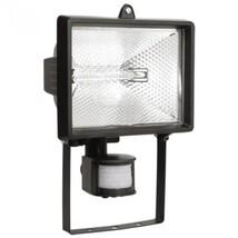 Прожектор галог. черный c датчиком движ.  FL(ИО) 500Д IP54 ИЭК LPI02-1-0500-K02