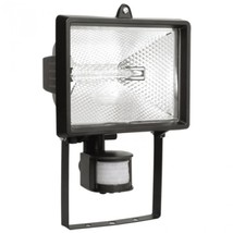 Прожектор галог. чер. с датч. движ. FL(ИО) 150Д IP54 ИЭК (LPI02-1-0150-K02)