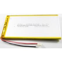 АКБ для планшета универсальный 90x55x3,6mm 2000mAh, 3,7v Li-Pol, 2 провода