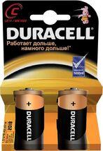 Батарейка R14 DURACELL Basic LR14-2BL, 1 шт