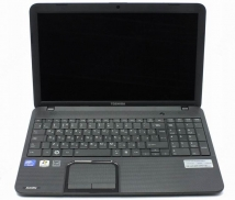 "Ноутбук 15.6"" Toshiba Satellite C850-C1K, 3 Гб, ЖД 500 Гб, DVD-RW, Windows 7 (б/у)"