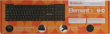 Клавиатура Defender Element HB-190, USB