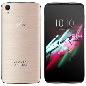 "Смартфон Alcatel ONE TOUCH IDOL 3 (4.7"") 6039Y (золотой)"
