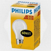 Лампа накал. A55 60W E27 230V FR Philips