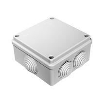 Коробка распределительная, 6 входов, 100x100x50, IP55
