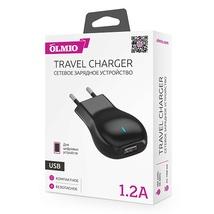 Сетевое ЗУ USB, 1.2А, OLMIO