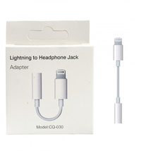 Переходник OTG jack 3.5 - Lightning