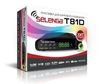 Цифровой эфирный приемник Selenga T81D, DVB-T2