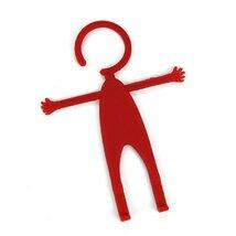 Автомобильный держатель универсальный Mr.Flex, силиконовый, красный