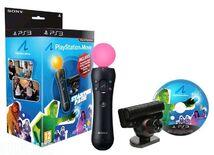 Стартовый набор Sony PlayStation Move контроллер + камера Eye + Blu-ray