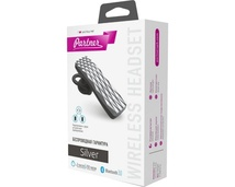 Гарнитура Bluetooth Partner Silver
