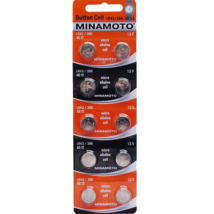 Батарейки часовые MInamoto G-12 LR43 (386) 1.5V, 1шт