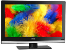 "Телевизор MYSTERY MTV-1629LW «R», 16"", LED, HD Ready, черный"