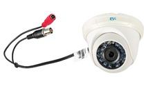 Видеокамера цветная купольная RVi-C311B (2.8 мм), 1.3 Мп, 720 ТВЛ, ИК до 20м, -10 +60°C