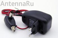 Блок питания для эфирной антенны с регулятором, 2-12V, 100 мА (F гнездо)