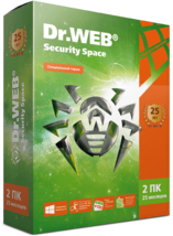 ПО Антивирус Dr.Web Security Space. 2ПК/25 месяцев