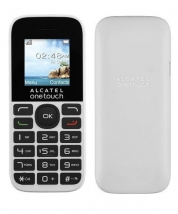 Телефон Alcatel One Touch 1016D 2 SIM белый