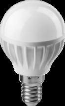 Лампа светодиод. шар. теплый. свет 6 Вт 71 643 OLL-G45-6-230-2.7K-E14 ОНЛАЙТ