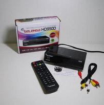 Цифровой эфирный приемник Selenga HD950D, DVB-T2+C (HDMI, RCA, USB)