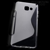 Бампер для Samsung J1 (прозрачный, силикон)
