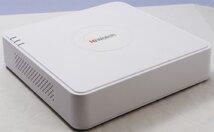 Видеорегистратор (IP) HiWatch DS-N104P, 4 канала POE, до 2 Мп