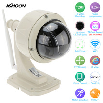 Видеокамера IP улич. купол. поворот. PTZ  Kkmoon SD13W, Wi-Fi, 1Мп, (2.8-12 мм), 720p, ИК до 20м
