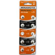 Батарейки часовые MInamoto АG-0 LR521 (379) 1.5V, 1шт
