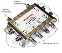Мультисвитч Skyrun MS-208, 8 выхода, 2 входа SAT 900-2150