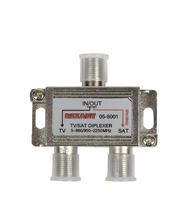 Делитель DC на 2 выхода (5-2150МГц) для кабельного и спутникового ТВ (SkyRun MS-102C1)