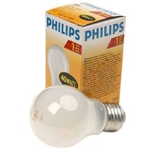 Лампа накал. A55 40W E27 230V FR Philips