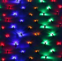 """Гирлянда """"Сеть"""", 1.6 х 1.6 м, LED-144-220V, 8 режимов, свечение мульти"""