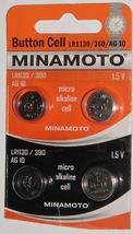 Батарейки часовые MInamoto G-10 LR1130 (390) 1.5V, 1шт